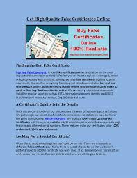 Make Certificates Online Get High Quality Fake Certificates Online