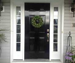 diy lessons learned painting my front door black doors black in how to  paint front door DIY: How to Paint a Door