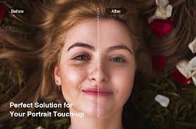 a range of beauty retouching tools that bring out the radiant you
