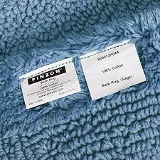 pinzon luxury reversible cotton bath mat 30 x 50 inch marine b000t2wy9e