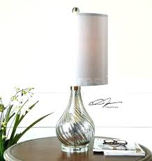 pottery barn pendant shades mercury glass lights lamps antique table lamp from floor articles with tag fu