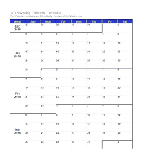 calendar templates weekly printable weekly calendar template best weekly calendar template