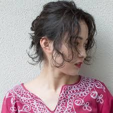 前髪なしで大人っぽヘアアレンジ脱マンネリスタイル特集 Trill