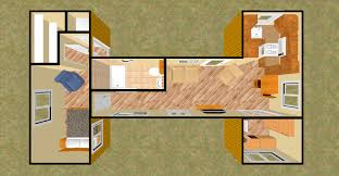 How To Build A Shipping Container House Container House Plans 20foot Shipping Container Floor Plan