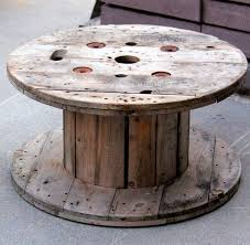 17 Best Images About Spool Tables On Pinterest | Stains, Industrial And  Cable Spool Tables