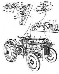 lighting & wiring parts for ford 8n tractors (1947 1952) Need Help Wiring Lights On 6 Volt Yesterdays Tractors lighting kit & wiring