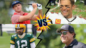 Brady and Mickelson vs Rodgers and ...