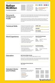 33 Best Creative Cvs Images On Pinterest Resume Design Resume And