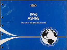 ford aspire electrical and vacuum troubleshooting manual original