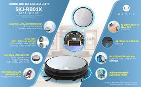 Gia Dụng EUS Việt Nam - 😘😘😘 Ultty SKJ RB01X - Robot hút bụi lau nhà đáng  chú ý nhất năm 2021!!! 💞 Sở hữu công nghệ họng hút trực tiếp độc