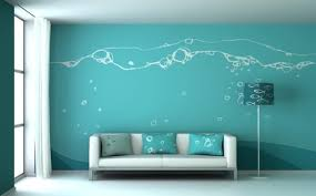 Creative And Cheap Wall Decor Ideas For Living Room » Blue Wall Decor Ideas  For Living Room