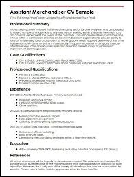 Beverage Merchandiser Sample Resume Classy Junior Merchandiser Resume Kenicandlecomfortzone