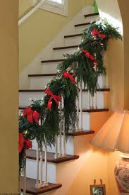 58 Best Christmas Staircase Banister Holiday Decorating Images On