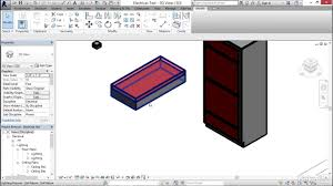 mep families in revit creating a recessed 2x4 light fixture