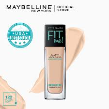 maybelline fit me matte poreless liquid foundation 30 ml