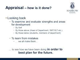 Looking Back For The Future: Using Appraisal And Self-Evaluation To ...
