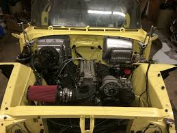 buick century project i used modern halogen headlights and housings and used the factory chevy engine wiring harness all done and said it cost be 300 and took two days