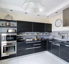 modern black kitchen cabinets. Brilliant Kitchen Amazing Modern Black Kitchen Cabinets 18 On Sectional Sofa Ideas With  I