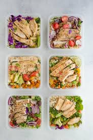 Weekly Lunch Prep 6 Easy Ways For Weekly Meal Prep Success Nourishedplanner Com