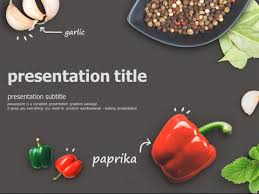 Powerpoint Templates Food Food Animated Powerpoint Template Youtube