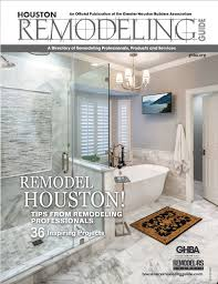 Houston Bathroom Remodel Beauteous Remodelers Council GHBA