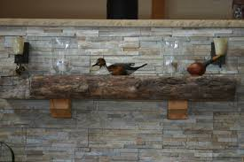 Railroad Tie Mantle corner redodiy fireplace patchwork reality 4875 by guidejewelry.us