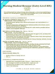 Nursing Student Resume Template Resume Example Graduate Nursing ...