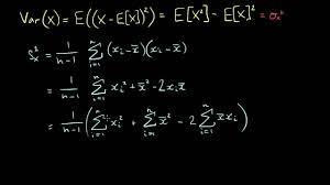 Variance Formula Quick Formula For Sample Variance