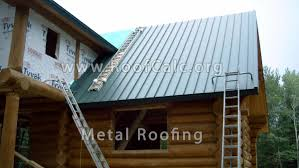 corrugated metal roofing 57 with corrugated metal roofing
