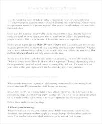 Corporate Meeting Minutes Template 9 Free Word Excel Format