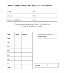 Make Receipts Free Extraordinary 48 Itemized Receipt Templates DOC Excel PDF Free Premium Metalrus