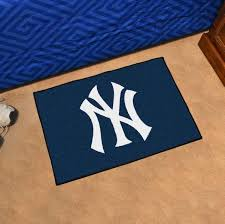 image is loading mlb new york yankees starter rug 19 inches