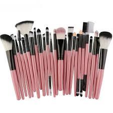 amazon smtsmt 25pcs makeup brush foundation blusher eye shadow cosmetic brushes set kit pink beauty