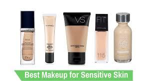 best makeup brands sensitive skin