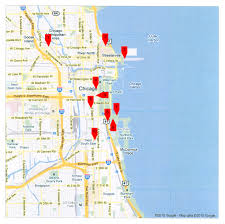 maps update  tourist map of chicago – chicago printable