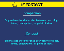 contrast essay definition how to write block method contrast and comparison essay