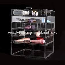 china acrylic makeup organizer 5 drawer hot transpa organic