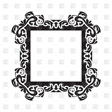 vintage frame border. Vintage Frame Border Royalty Free Vector Clip Art D