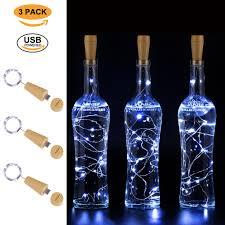 Usb Rechargeable Bottle Lights Ansaw Usb Bottle Lights