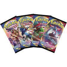 Thẻ bài Pokemon TCG: Sword & Shield Booster Pack (Hàng chính hãng) chính  hãng