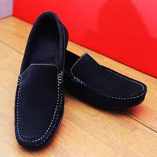 loafers shoes men pure velvet leather latest stylish shoes