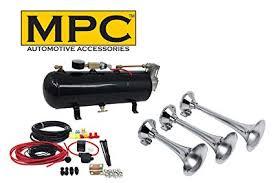 Amazon.com: MPC Train Horn Kit - Triple Air Horns for Car or Truck ...