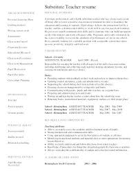Long Term Substitute Teacher Resume Mesmerizing Spring Long Term Substitute Letter To Parents My Field Yeslogicsco