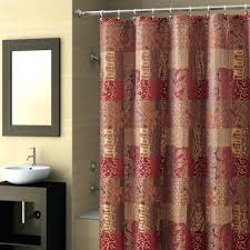 l shower red black and silver shower curtain bathroom decoration throughout proportions 945 x 945