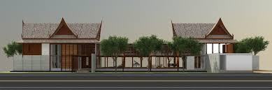 Thai House Designs Pictures Casa Msr Thai Vacation House Design Proposal Anatomy