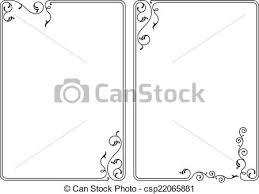 Image Decorative Frame Border Design Csp22065881 Can Stock Photo Frame Border Design Vector Art