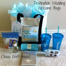 destination wedding welcome bags diy texas craft house