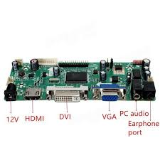 bxw lcd Контрольная плата hd dvi vga audio pc module Набор  b156xw02 lcd Контрольная плата hd dvi vga audio pc module Набор Для 1366x768