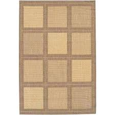 home depot outdoor rug or summit natural cocoa 5 ft 3 in x 7 ft 6 idea home depot outdoor rug