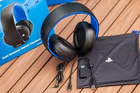 sony gold wireless headset. playstation-4-gold-wireless-stereo-headset-unboxing get ready to hear your next-gen games like you have never heard them before with sony\u0027s awesom\u2026 sony gold wireless headset s